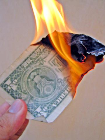 AdWords-burning-money