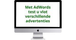 AdWords-testen