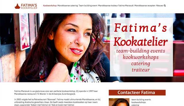 Fatimas Kookatelier Homepage