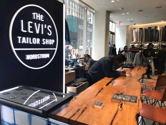 ecommerce Nordstrom Levis