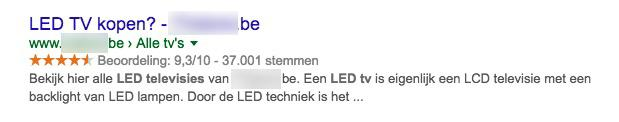 SEO hoger in google titel description 3