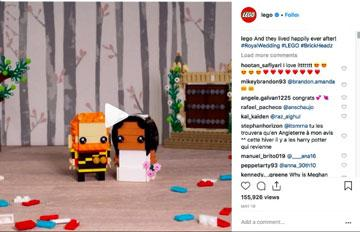 Lego Instagram marketing