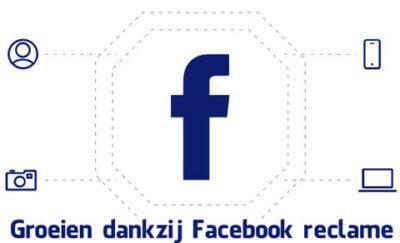 Facebook reclame groei